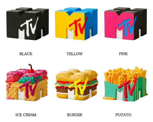 """MTV 3D LOGO""转蛋作品细节"