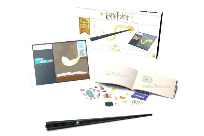 哈利波特 Kano Coding Kit:教儿童学编程的魔杖