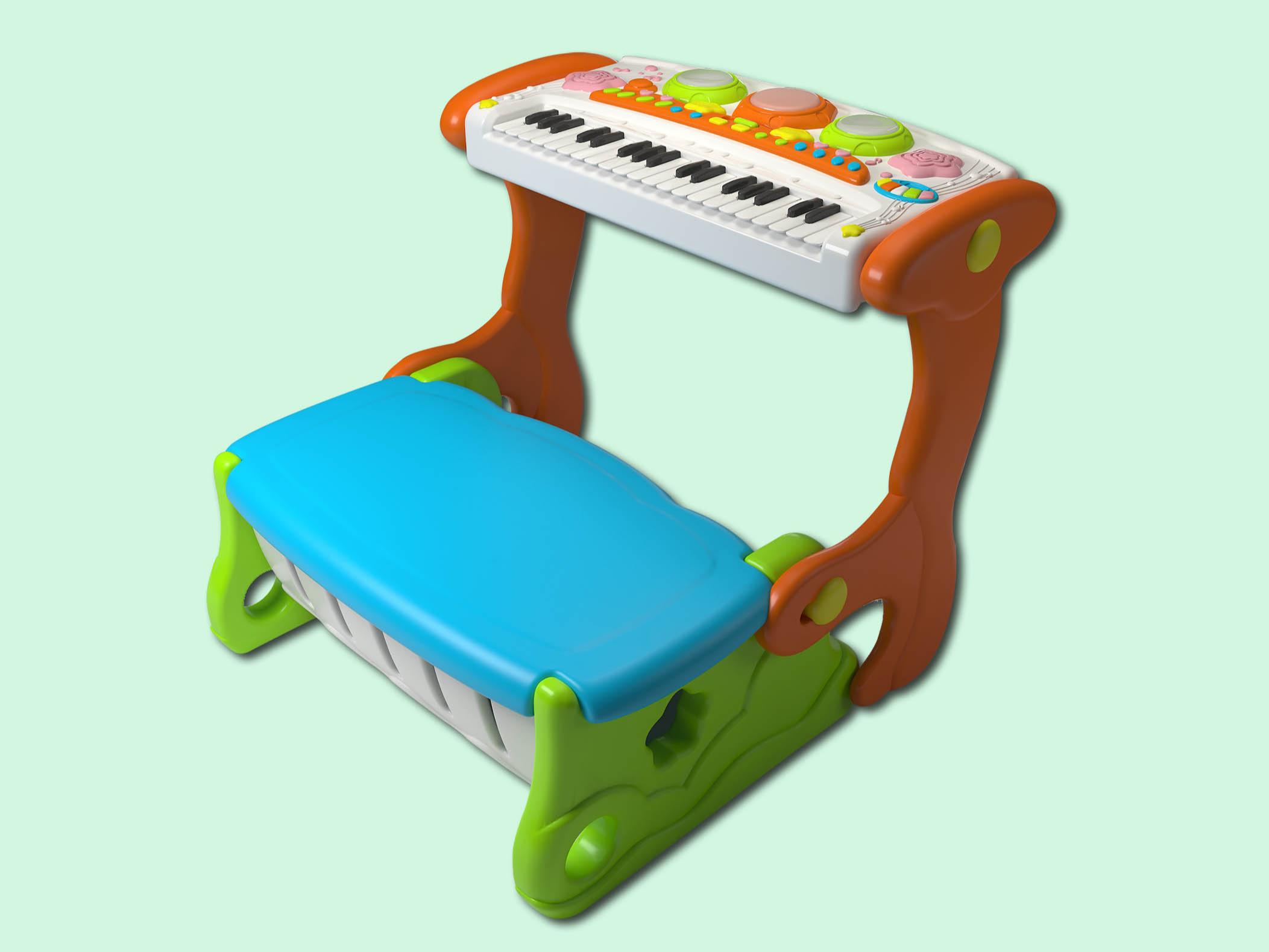 多功能椅子电子琴