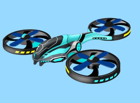 骏意设计四轴飞行器案例