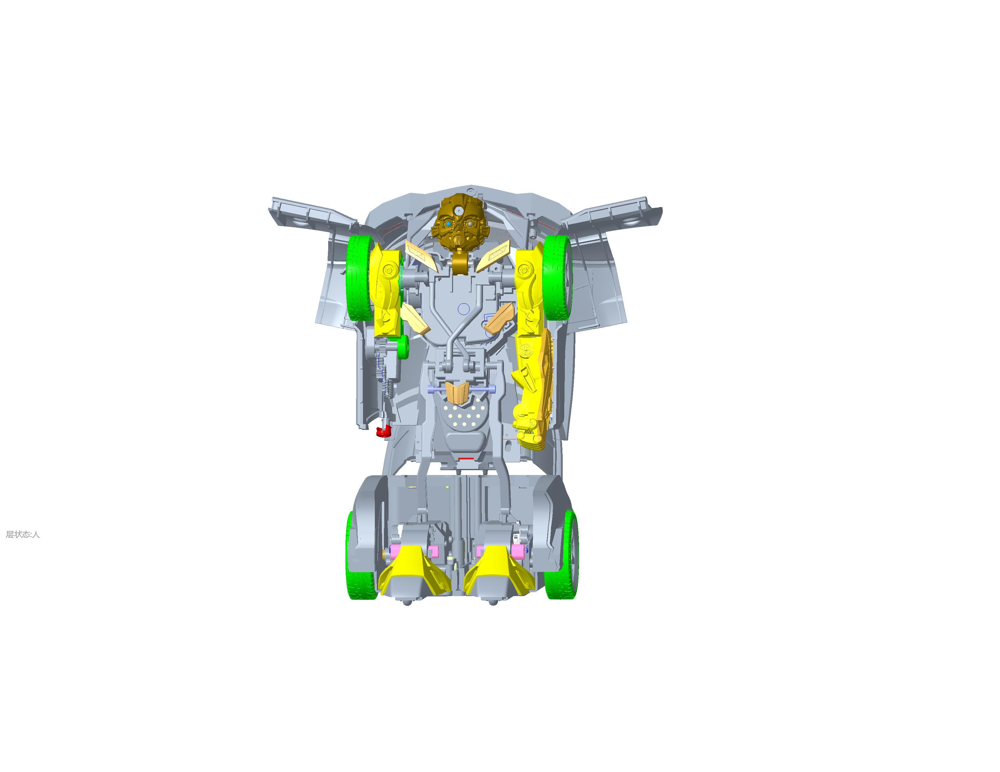 玩具产品结构设计