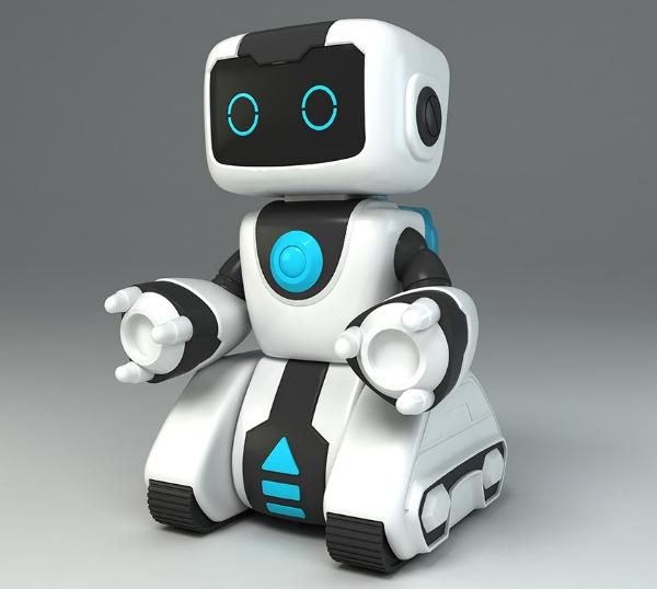 骏意设计·智能教育机器人案例