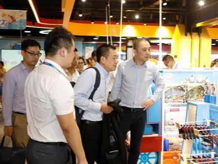 全球最大玩具公司美泰造访中国苏宁