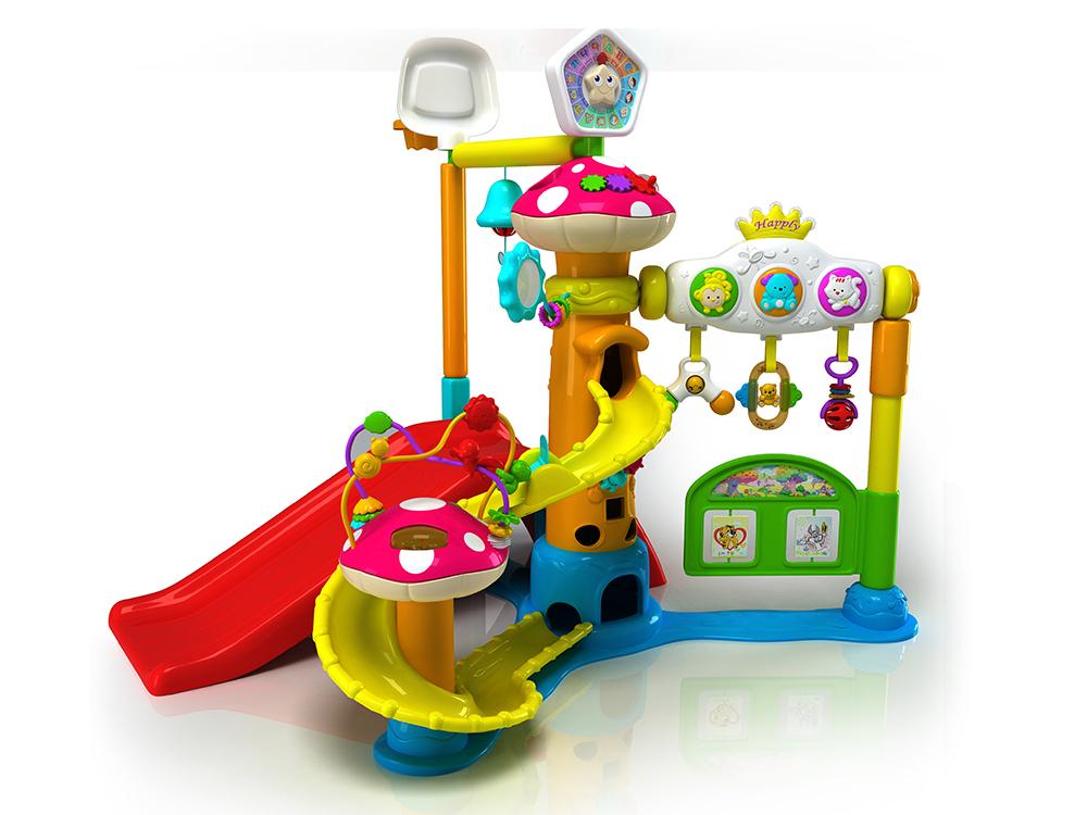 骏意设计·游乐健身架玩具案例