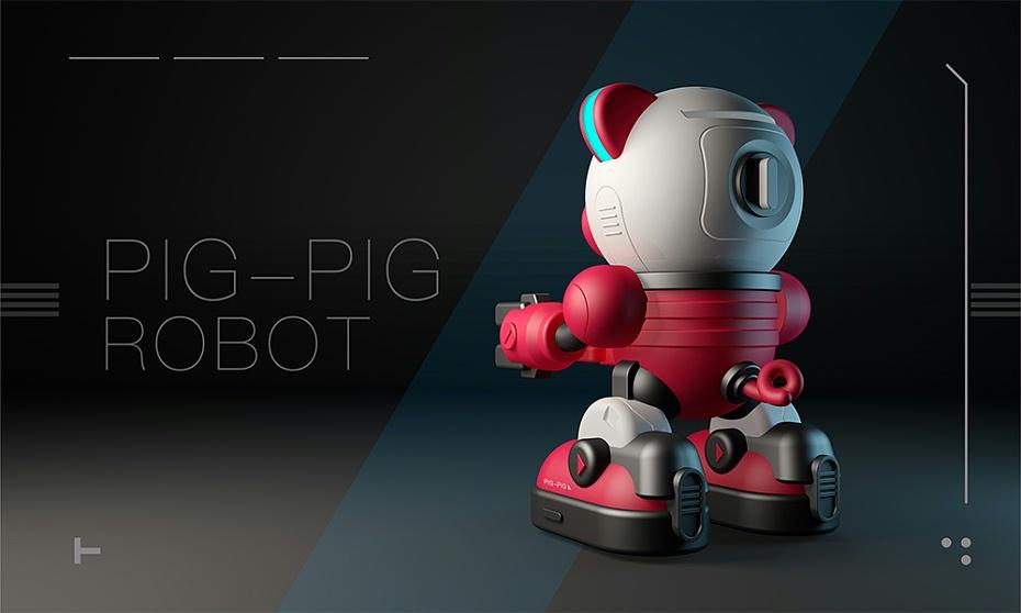 智能存钱罐机器猪设计