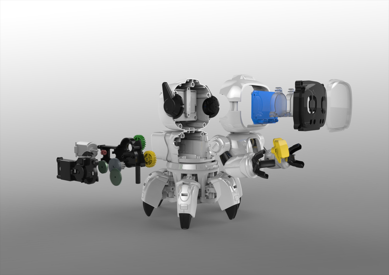 智能机器人设计结构图