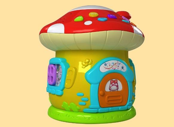 骏意设计蘑菇菇故事机案例