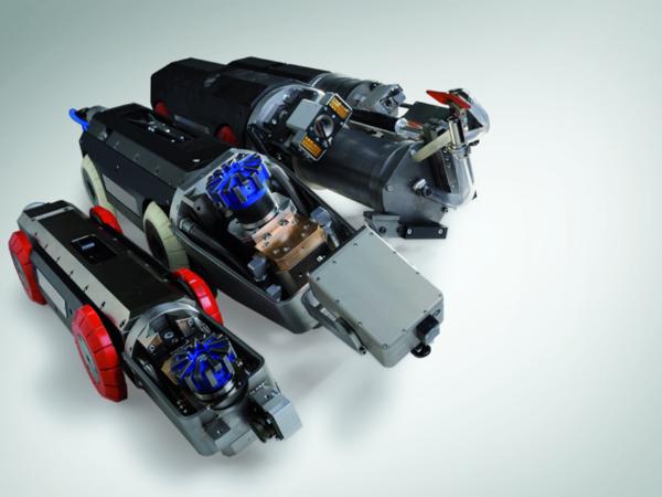 智能管道车机器人开发制作