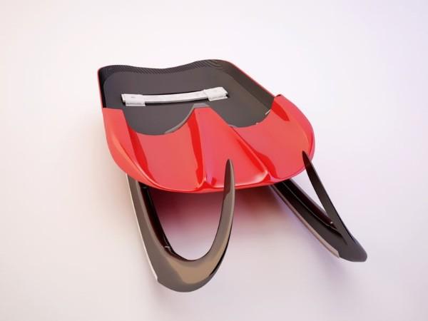 体育滑冰车设计开发