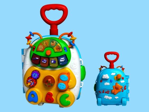 骏意设计·熊宝行李箱益智玩具