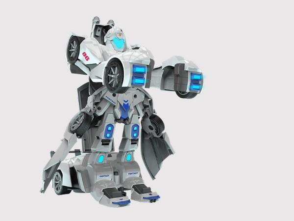 变形遥控机器人设计