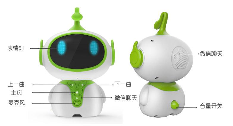 智能早教机器人设计