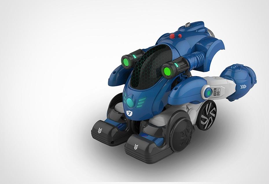 智能变形机器人玩具设计
