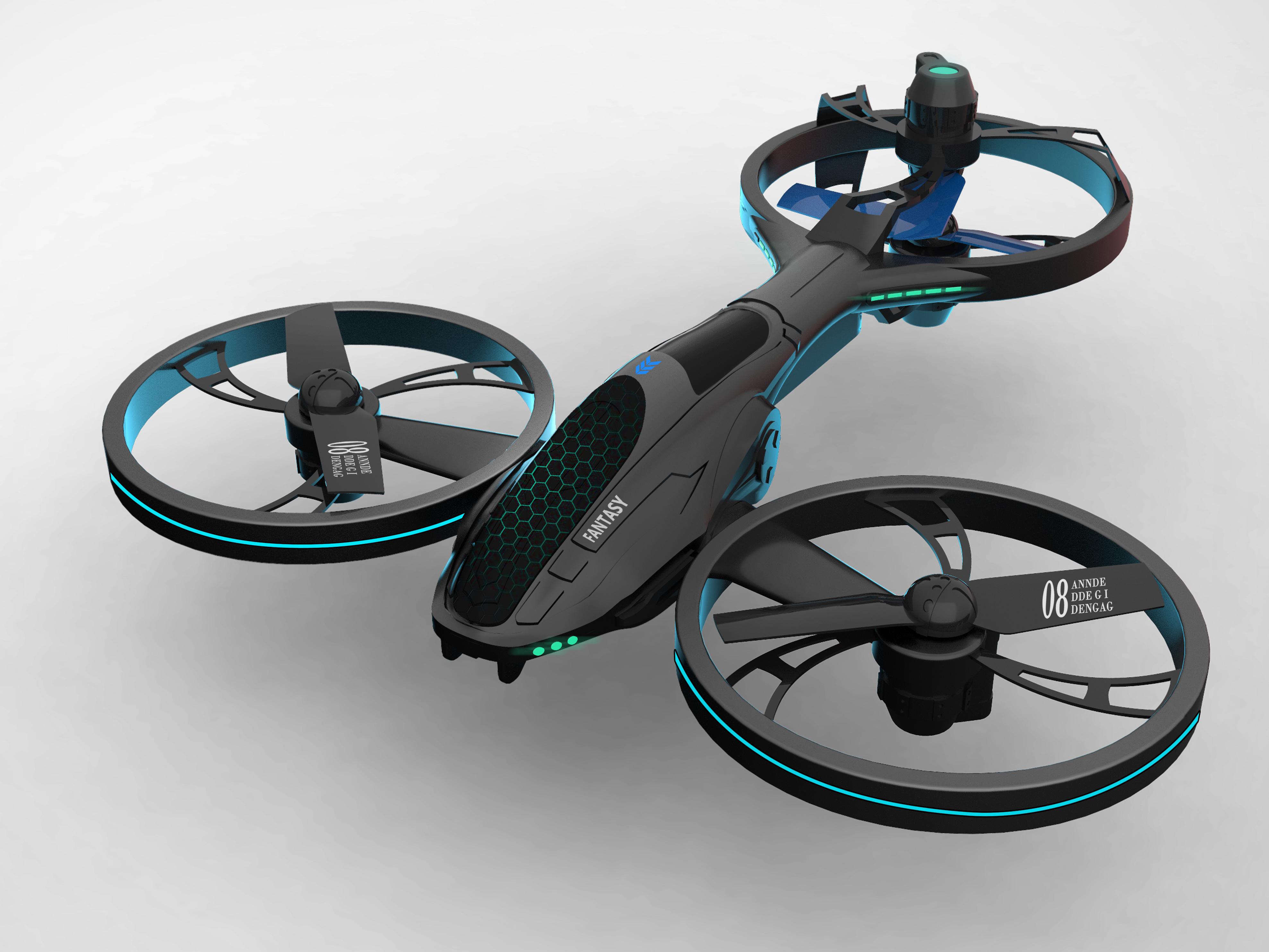 智能航模飞行器设计(全案)