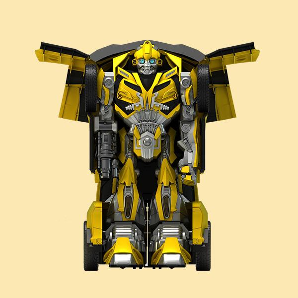 大黄蜂变形金刚玩具设计