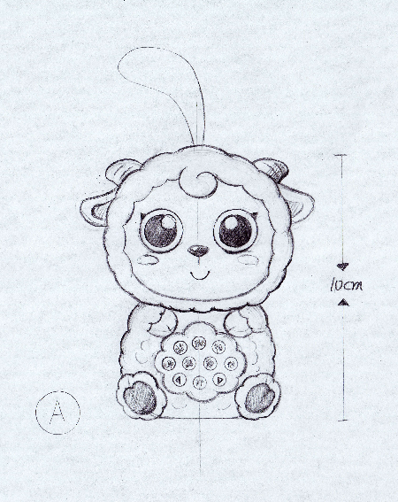 骏意设计·小羊故事机案例