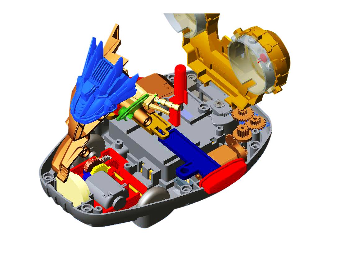 骏意设计·玩具结构设计案例