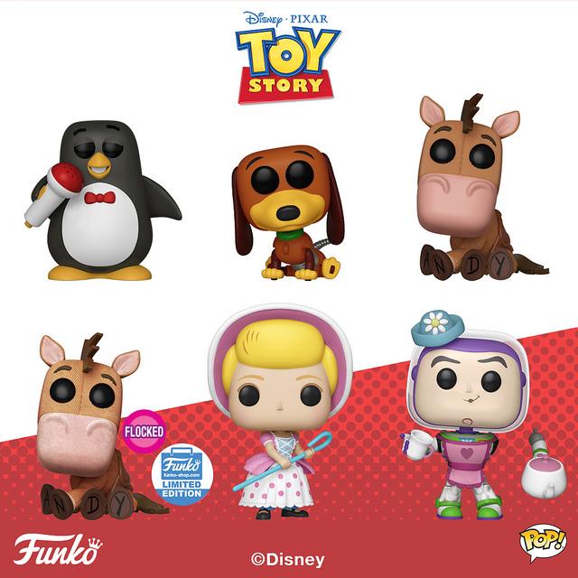Funko《玩具总动员》玩具作品