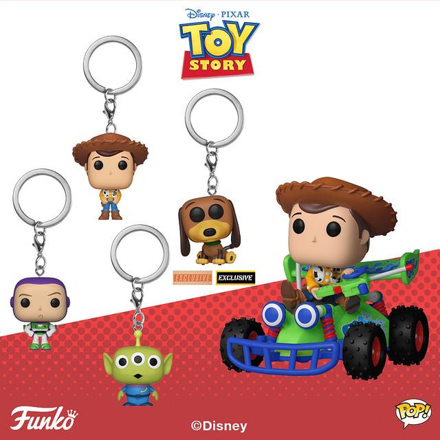 Funko《玩具总动员》玩具作品1