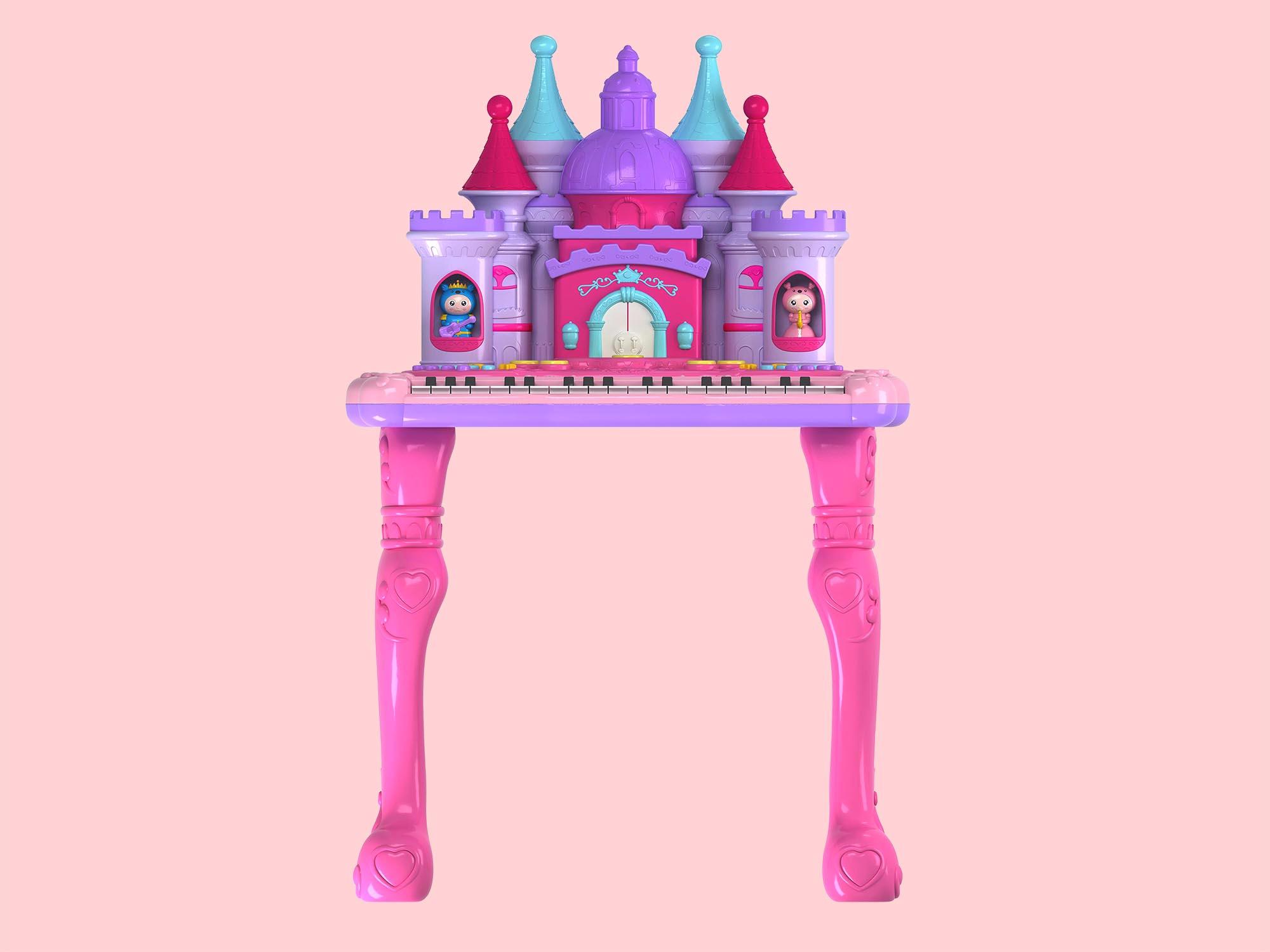 多功能梦幻城堡电子琴
