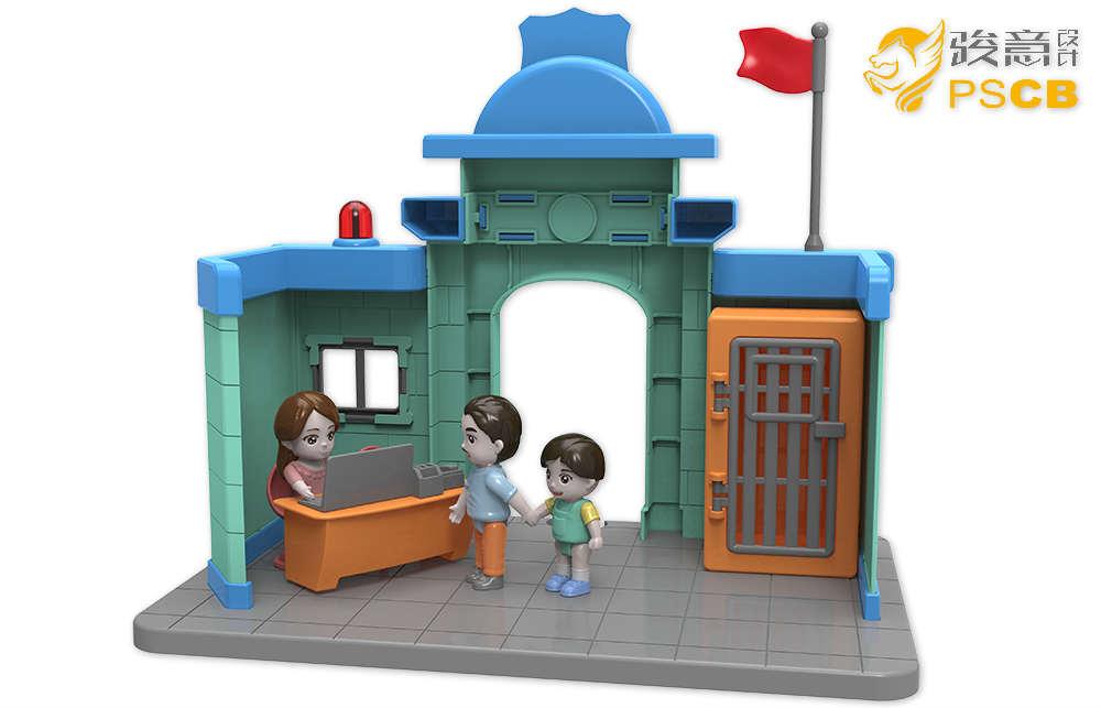 轨道玩具产品设计