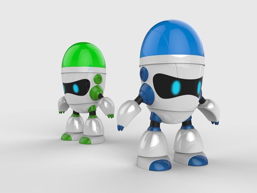智能陪伴互动机器人
