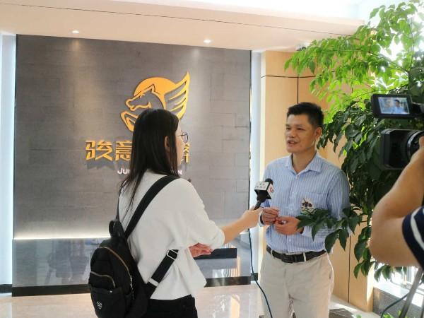 澄海电视台采访
