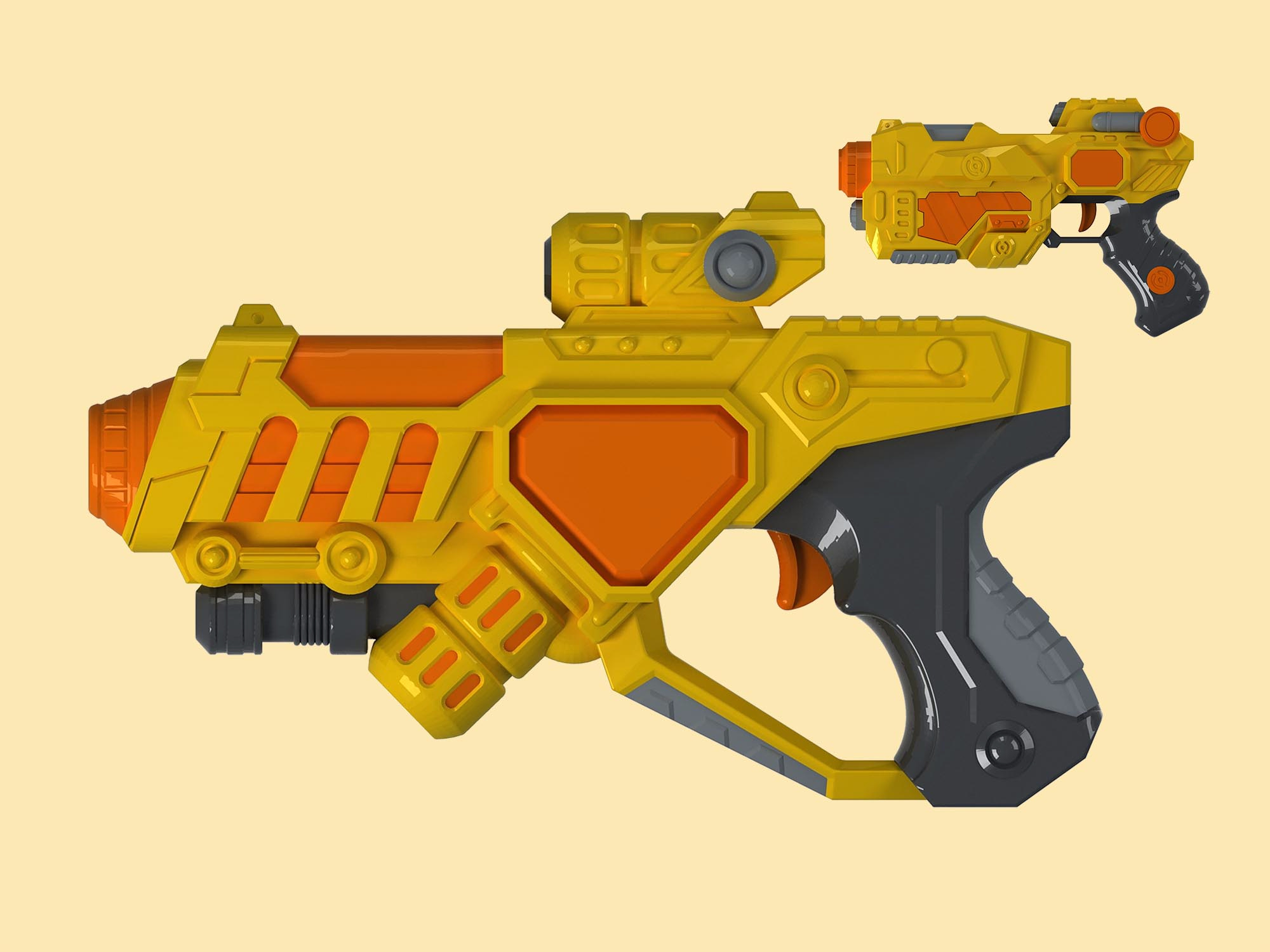 软弹射击竞技玩具设计