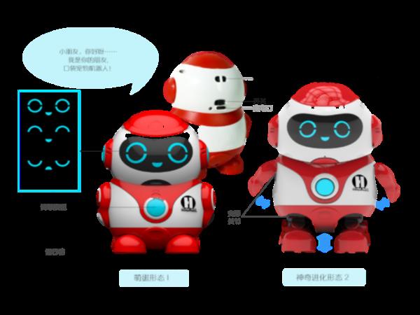 口袋宠物机器人设计