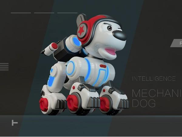 儿童玩具机械狗结构设计开发解决方案