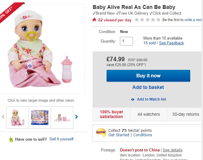 7、栩栩如生的婴儿娃娃