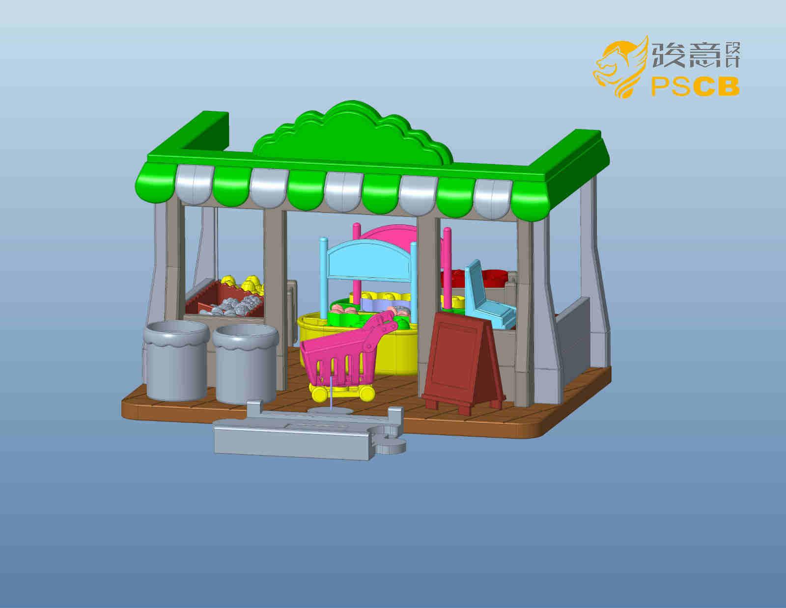 儿童玩具结构设计