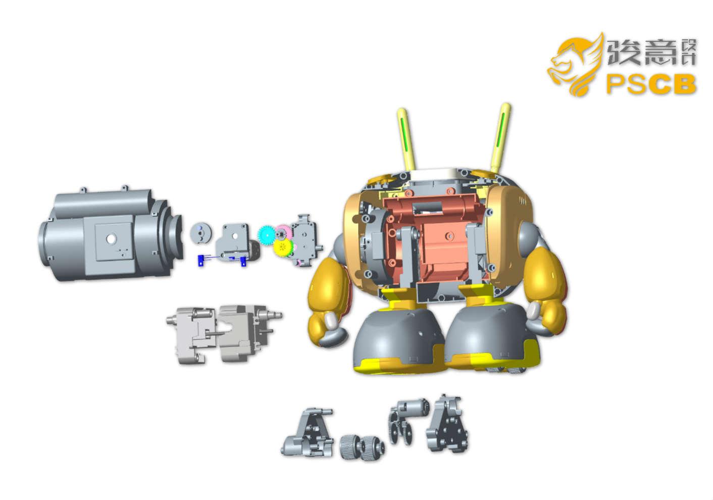 塑料玩具结构设计