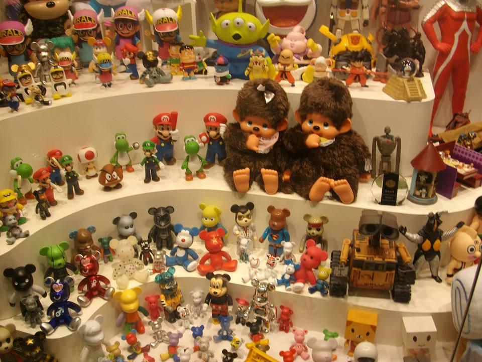玩具零售行业