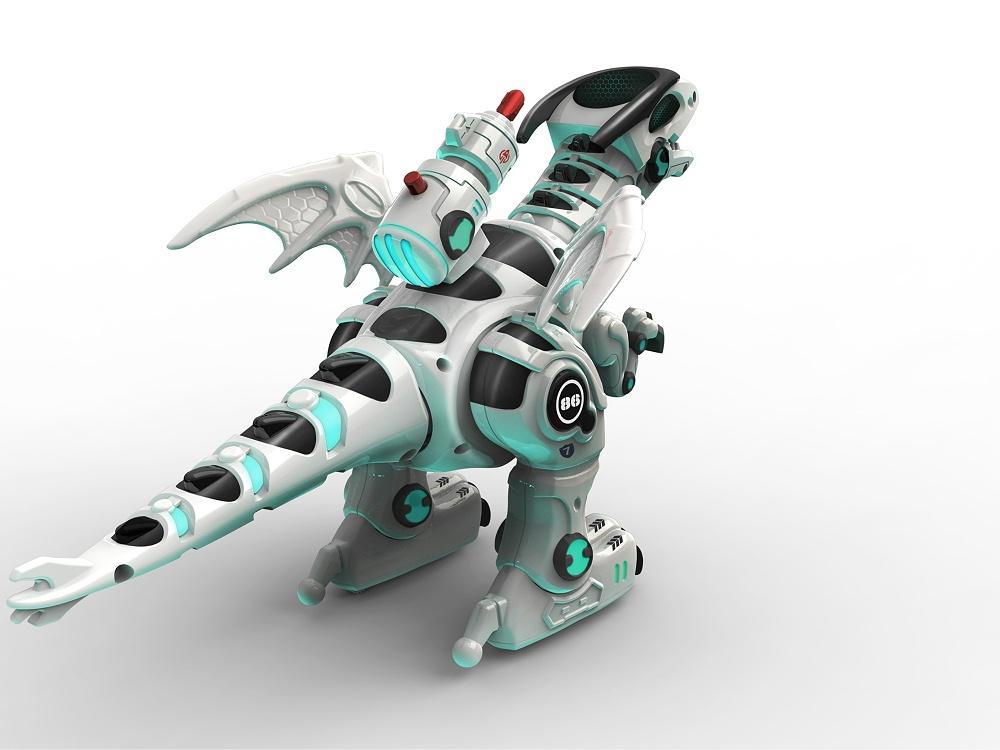 智能机械恐龙玩具设计
