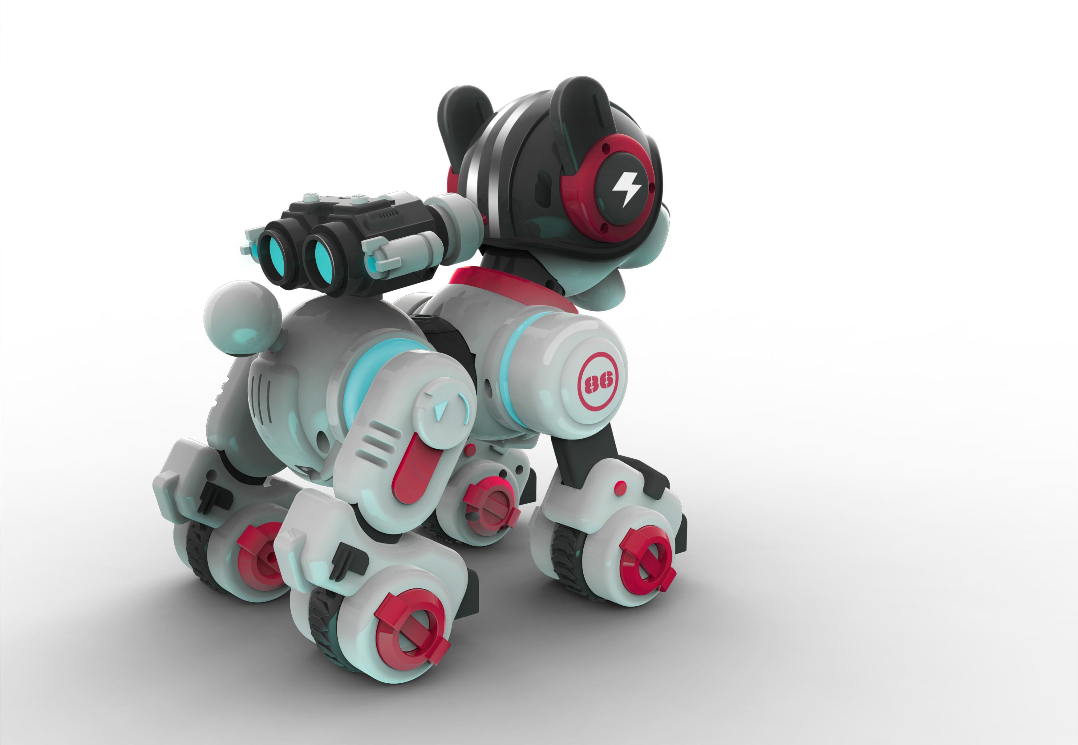 智能互动机器狗产品设计