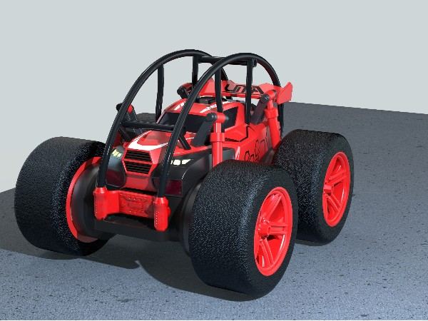 特技玩具车设计