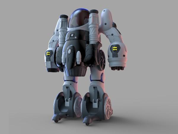 变形机器人玩具设计