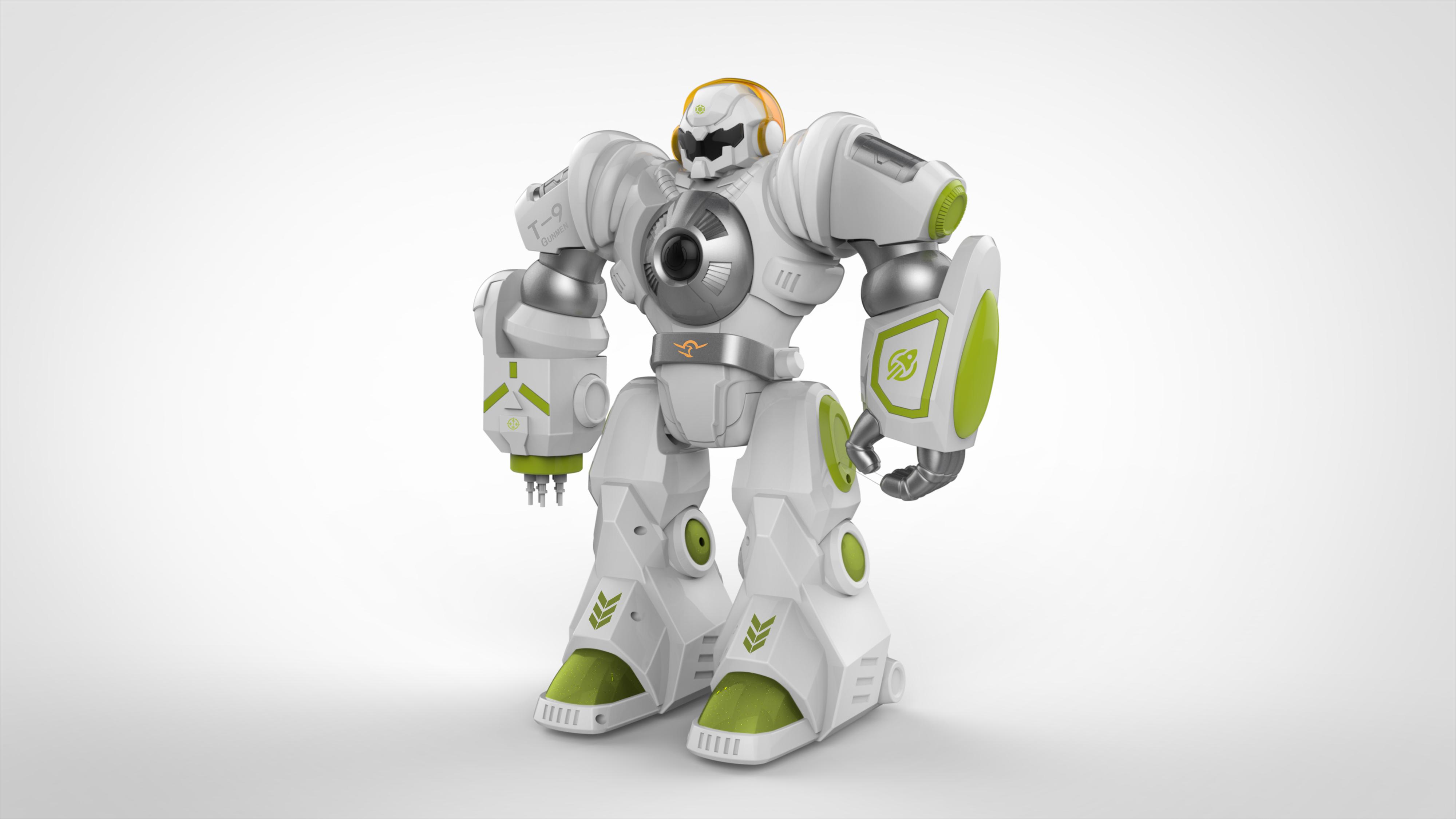 智能机甲战神设计