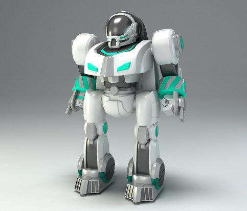 骏意机器人玩具设计案例
