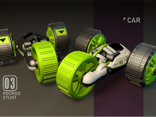 遥控电动水陆车设计