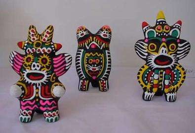 中国传统陶制玩具
