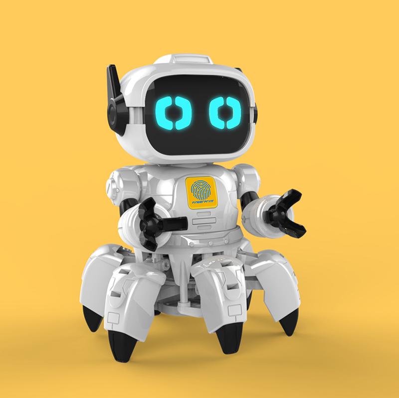 智能托盘编程机器人设计