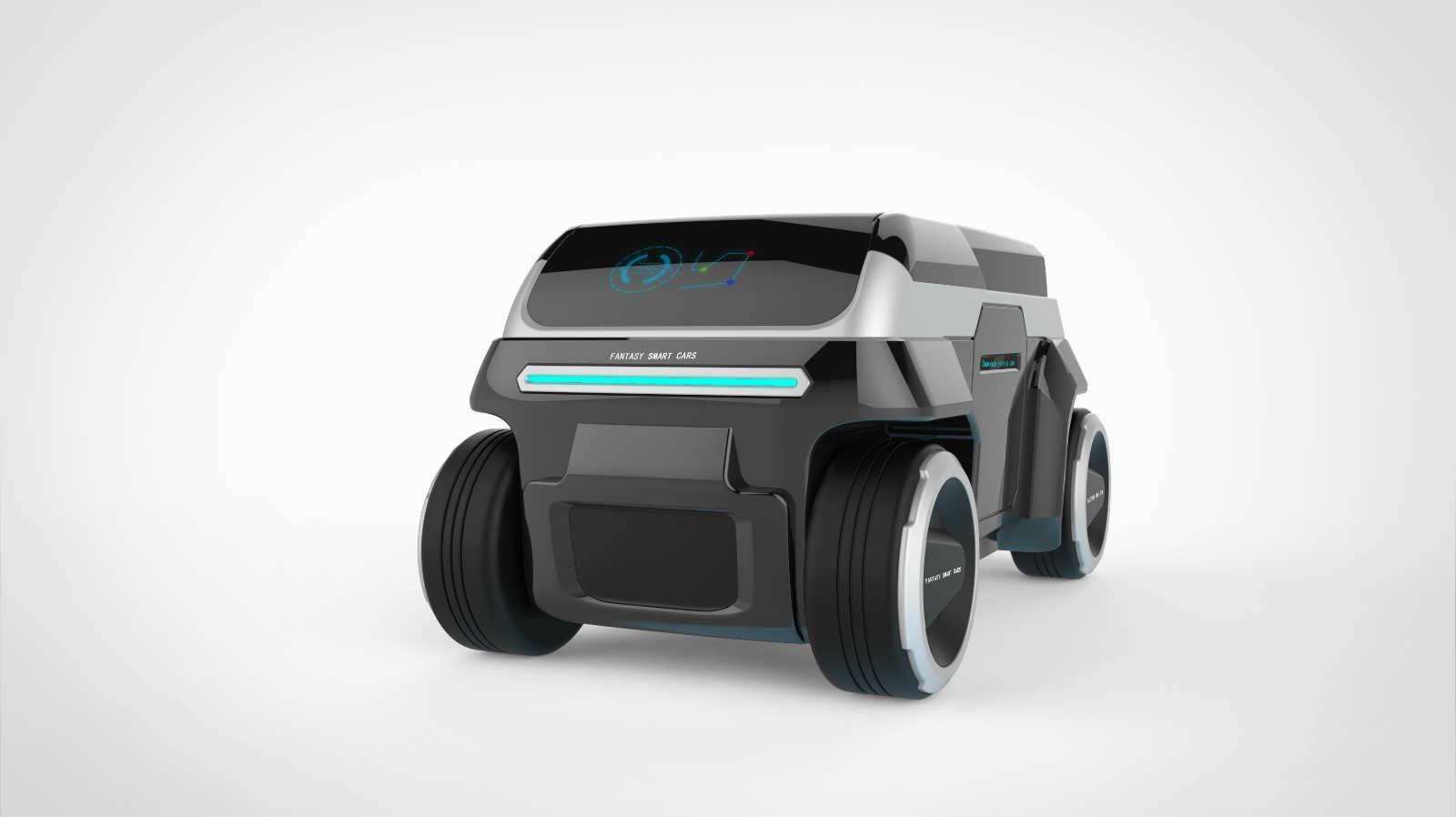 AGV智能运输车设计