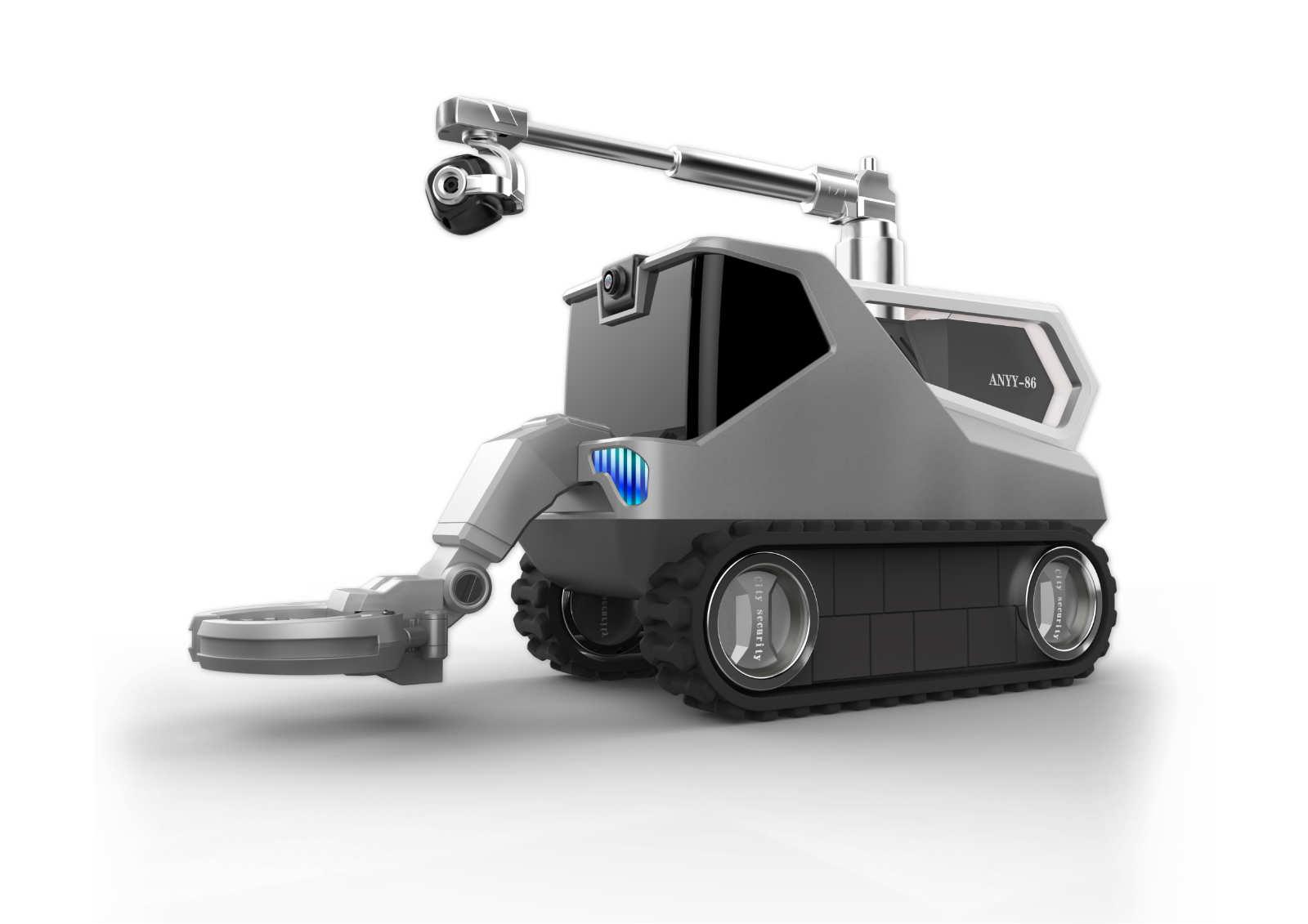 防爆消防侦察车设计