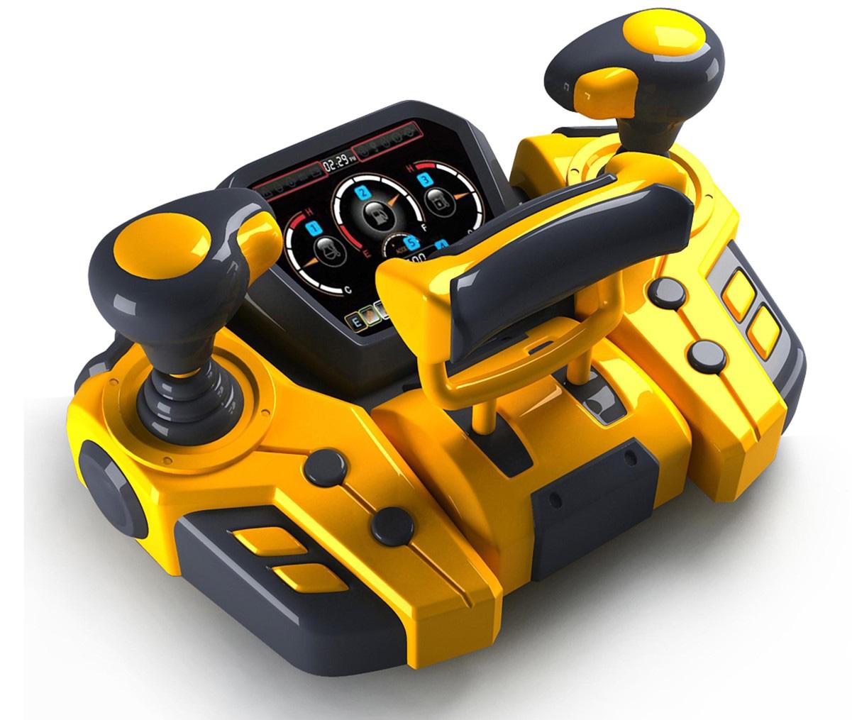 仿真飞机操纵杆玩具设计